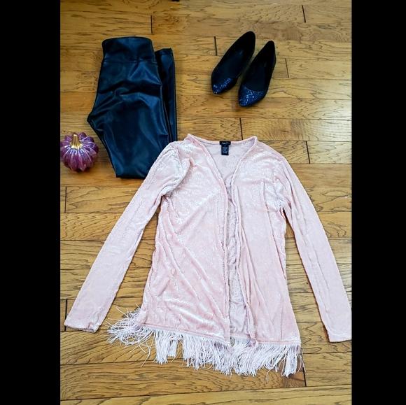 Pink flapper sweater